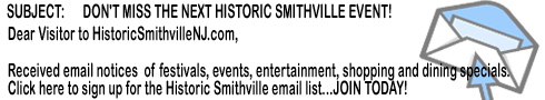 Historic Smithville New Jersey Email List